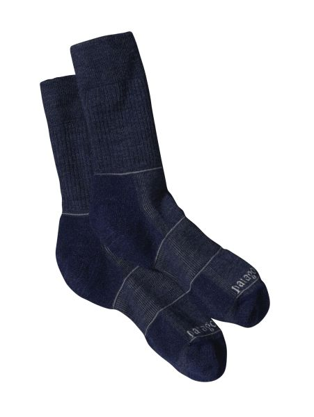 Patagonia Lightweight Merino Hiking Crew Socks Classic Navy-30