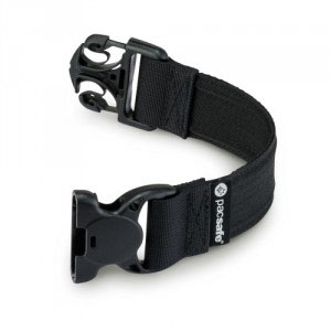 Pacsafe Strap Extender (2,5 x 25 cm/1 x 10 in) Black-30