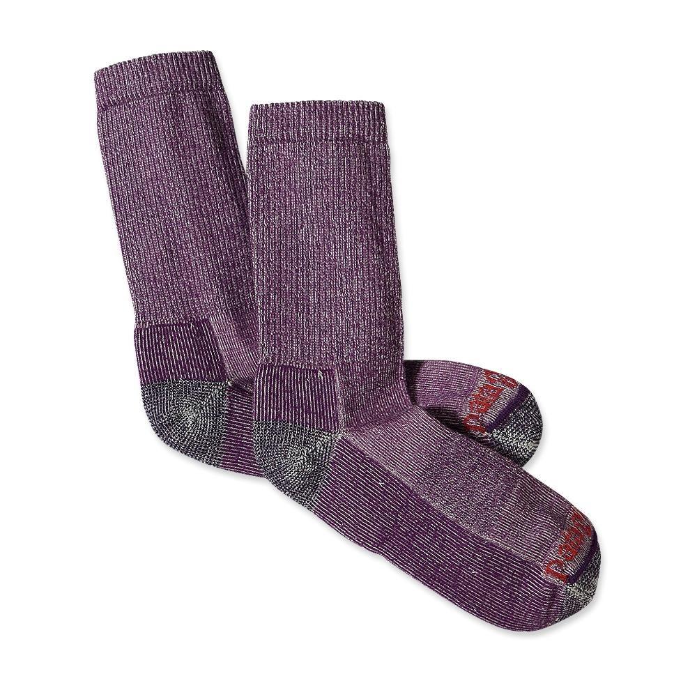 Patagonia Midweight Merino Crew Socks Purple-30