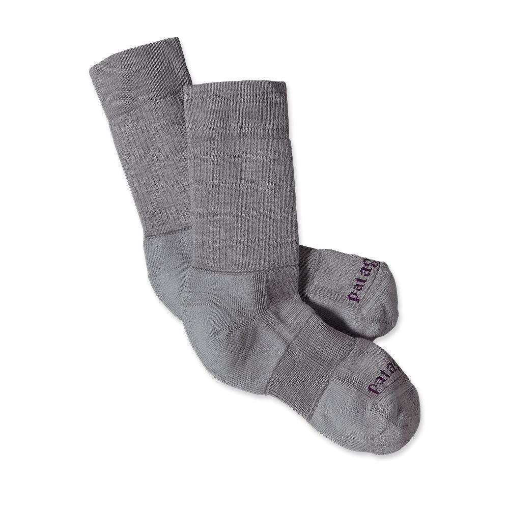 Patagonia Midweight Merino Hinking Crew Socks Feather Grey-30