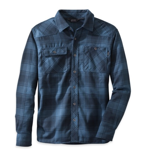 Outdoor Research Men´s Feedback Flannel Shirt 33B-DUSK/NIGHT-30