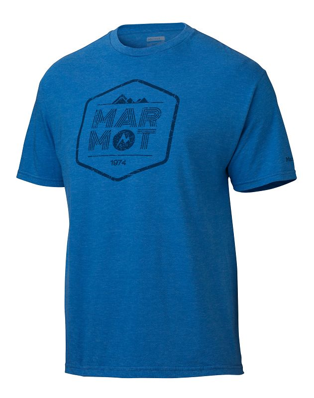 Marmot Just Marmot Tee SS Royal Heather-30