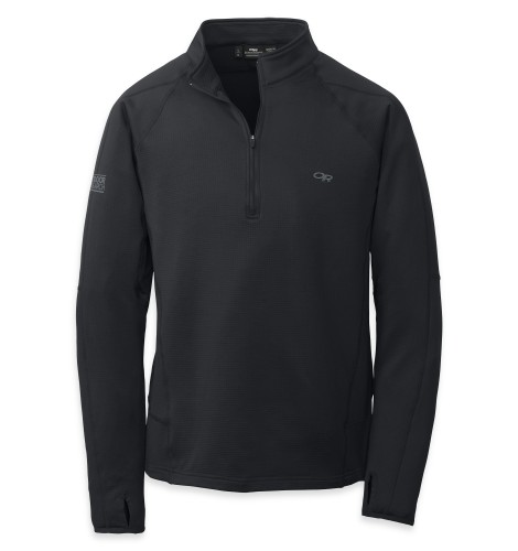 Outdoor Research Men´s Radiant LT Zip Top 001-BLACK-30