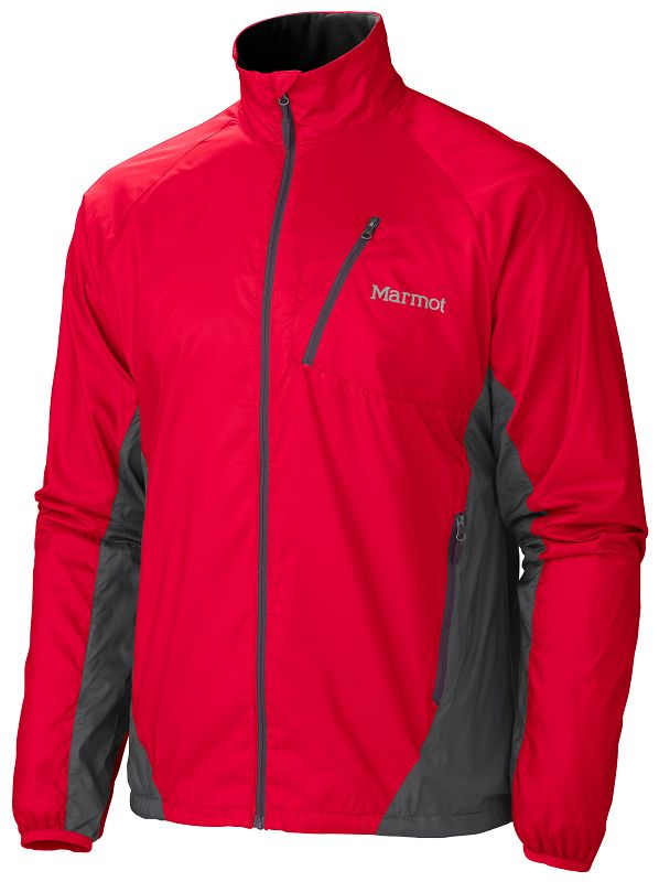 Marmot Stride Jacket Team Red/Slate Grey-30