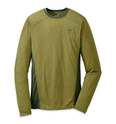 Outdoor Research Men´s Sequence L/S Crewe 969-HOPS/EVERGREEN-30