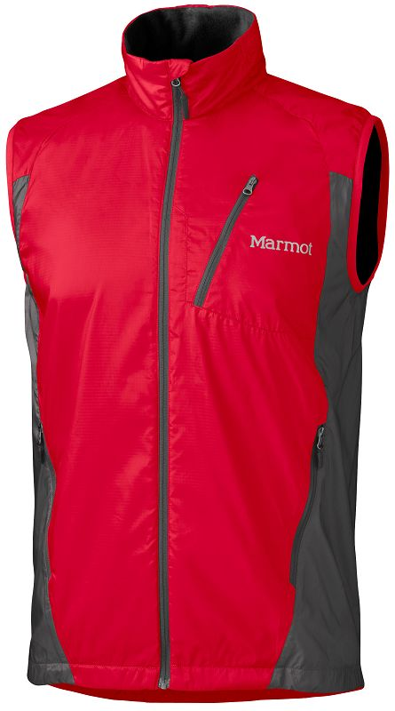 Marmot Stride Vest Team Red/Slate Grey-30