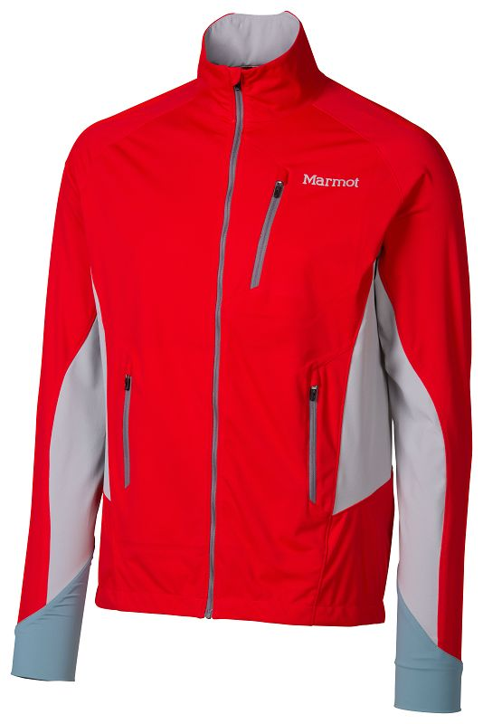Marmot Fusion Jacket Team Red/Steel-30