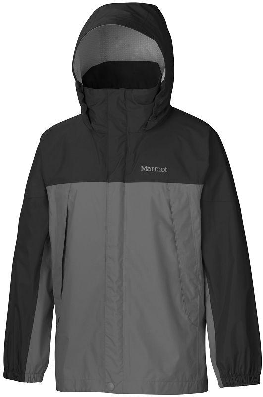 Marmot Boy's PreCip Jacket Cinder/Black-30