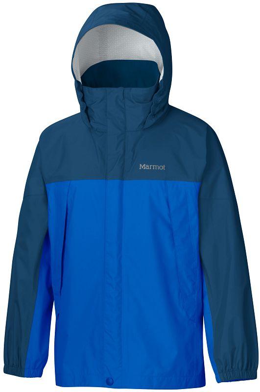 Marmot Boy's PreCip Jacket Peak Blue/Dark Sapphire-30
