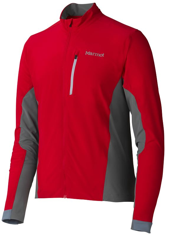 Marmot Stretch Light Jacket Team Red/Cinder-30