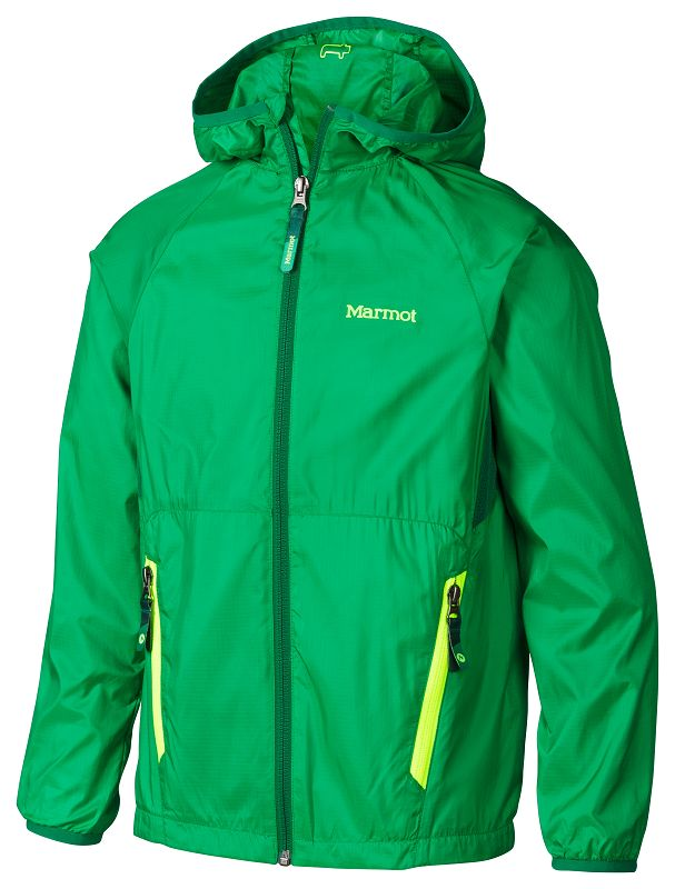 Marmot Boy's Ether Hoody Greenway/Rich Forest-30