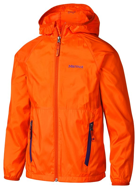 Marmot Boy's Ether Hoody Blaze/Orange Haze-30