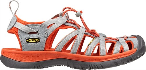 Keen Whisper Neutral Gray/Red Clay-30