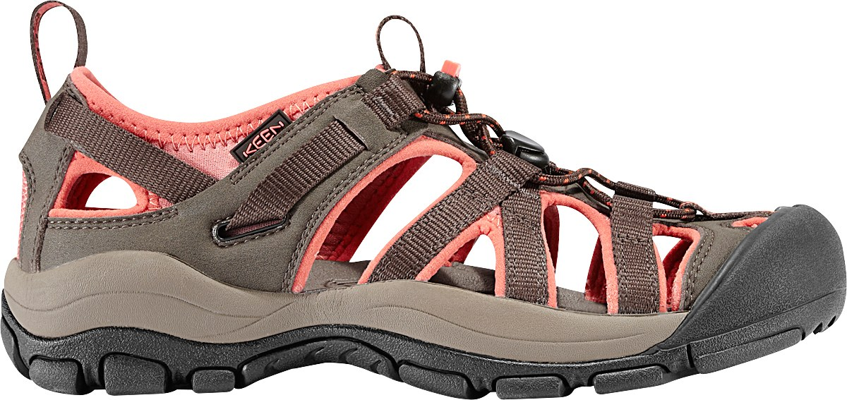 Keen Owyhee Simply Black / Living Coral-30