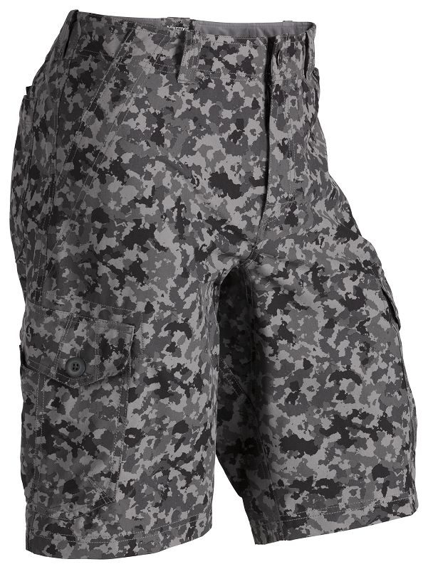 Marmot Hetch Cargo Short Grey Camo-30