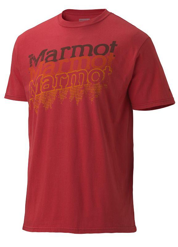 Marmot Pitch Tee SS Cardinal-30