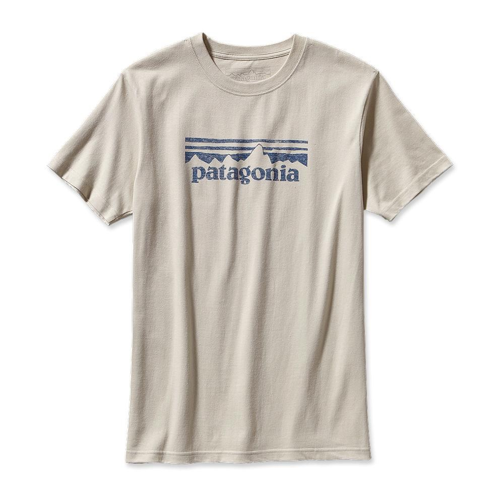 Patagonia STAMP Logo T-Shirt Bleached Stone-30