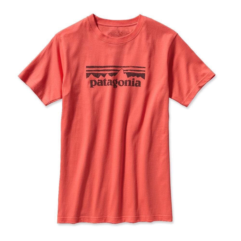 Patagonia STAMP Logo T-Shirt Coral-30