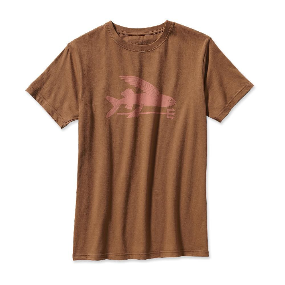 Patagonia Flying Fish T-Shirt Sepia Brown-30