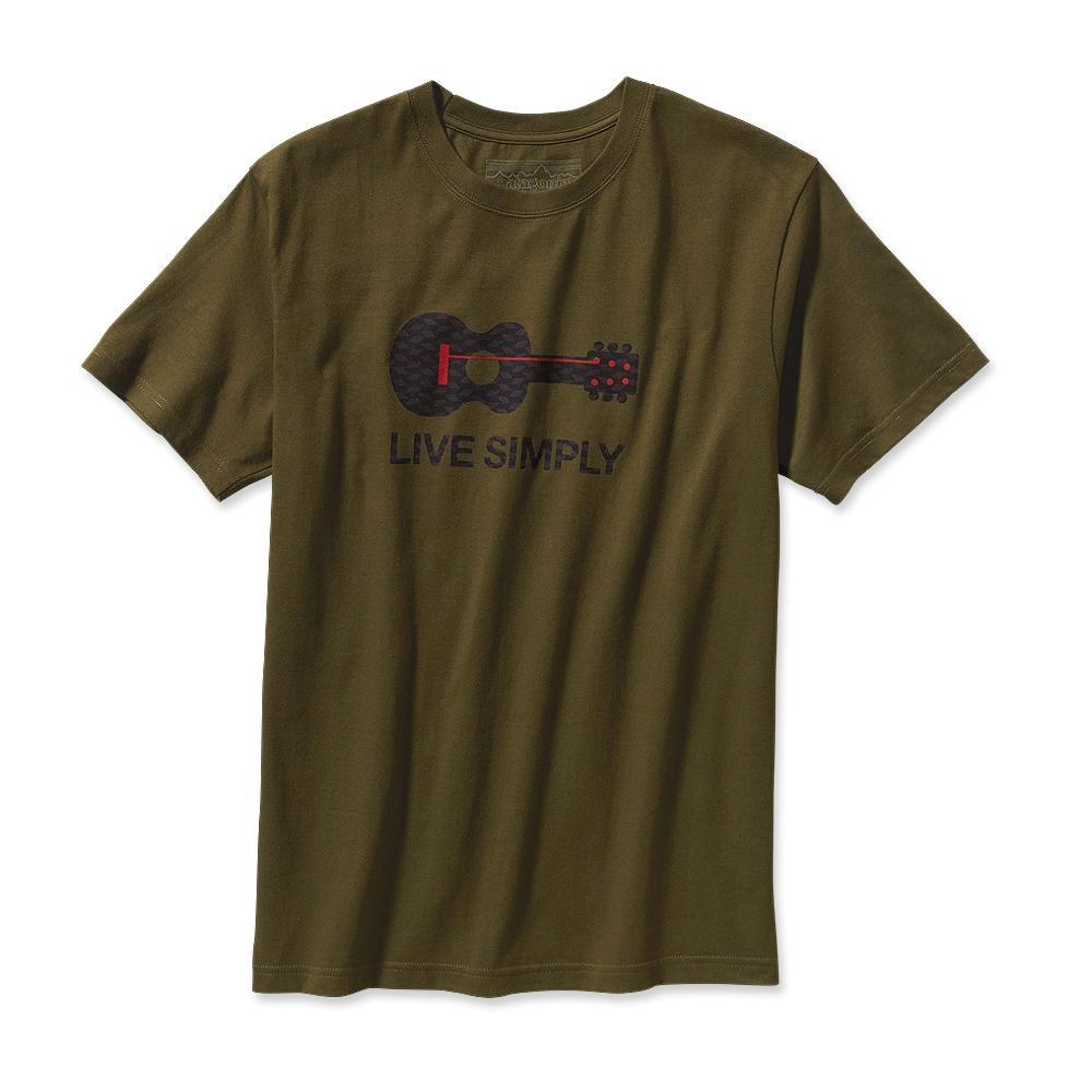 Patagonia Live Simply Guitar T-Shirt Hickory-30