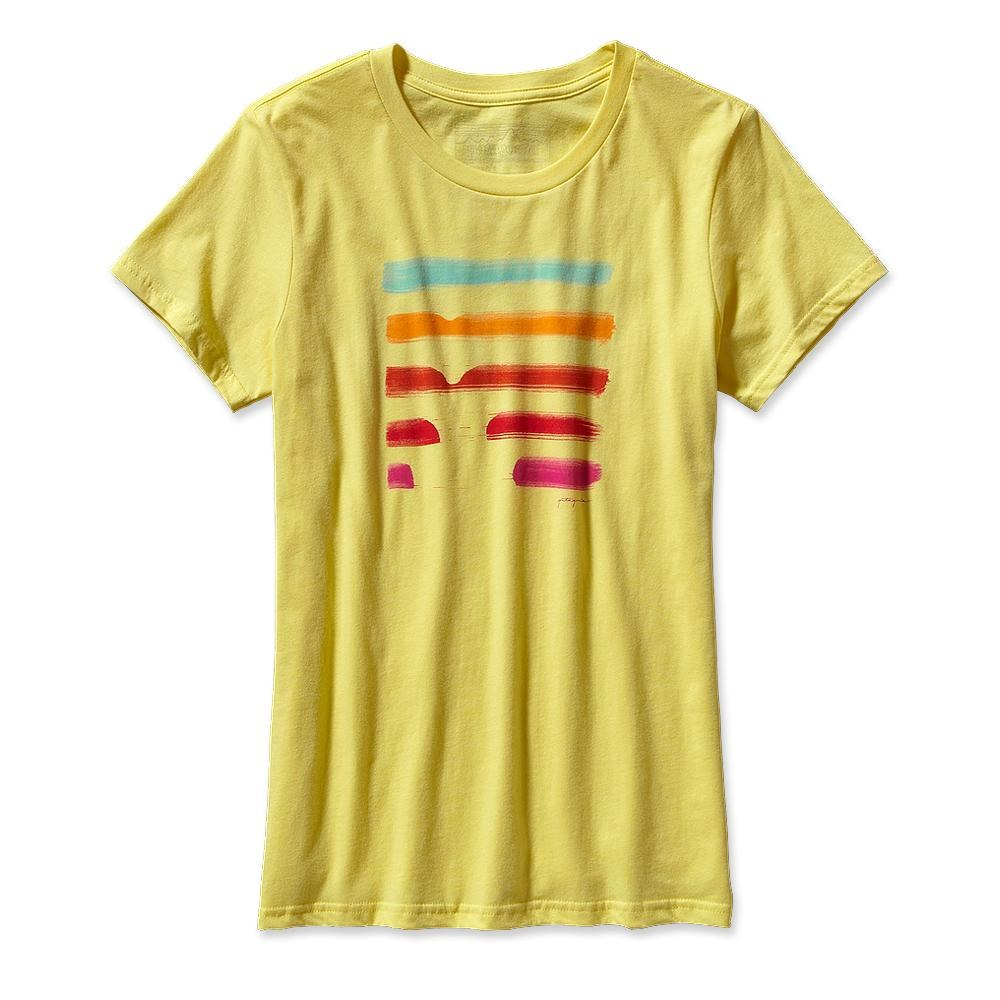 Patagonia - Save The Waves Corduroy T-Shirt Pineapple - T-Shirts -