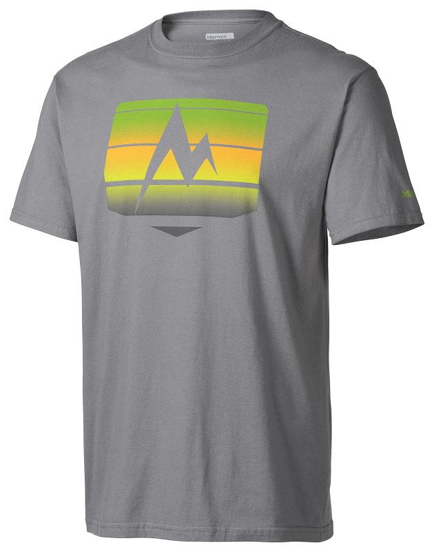 Marmot Sunrise Stripe Tee SS Charcoal-30
