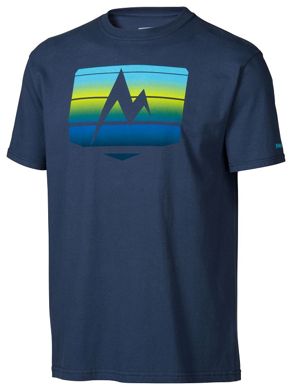 Marmot Sunrise Stripe Tee SS Twilight-30