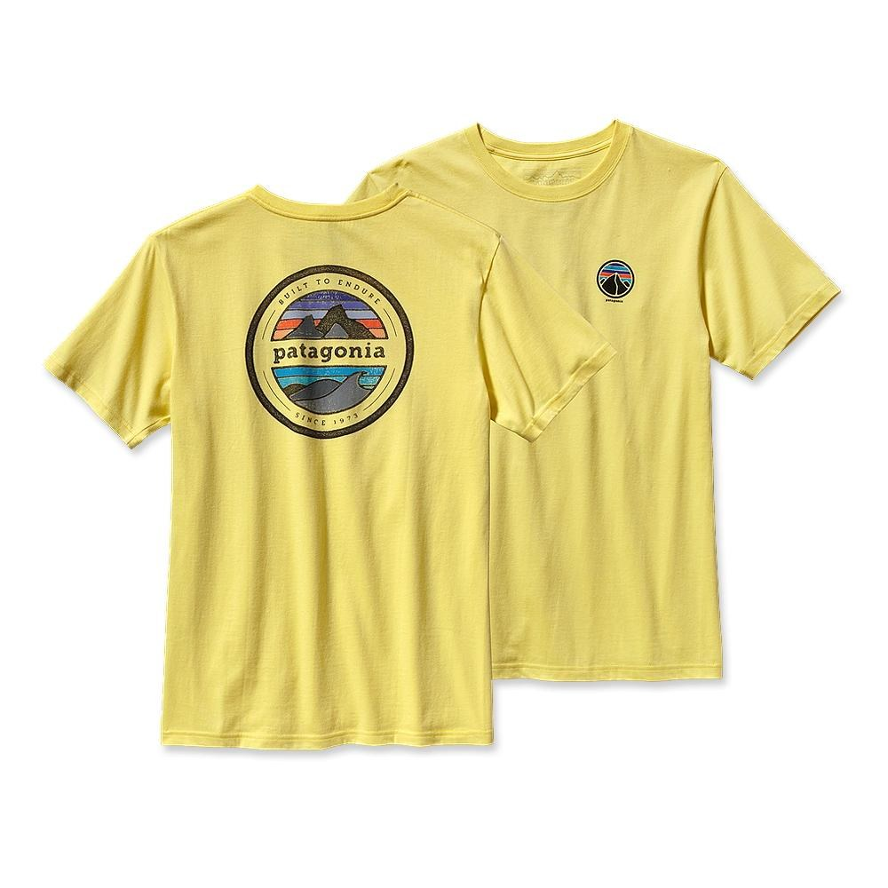 Patagonia Rivet Logo T-Shirt Pineapple-30