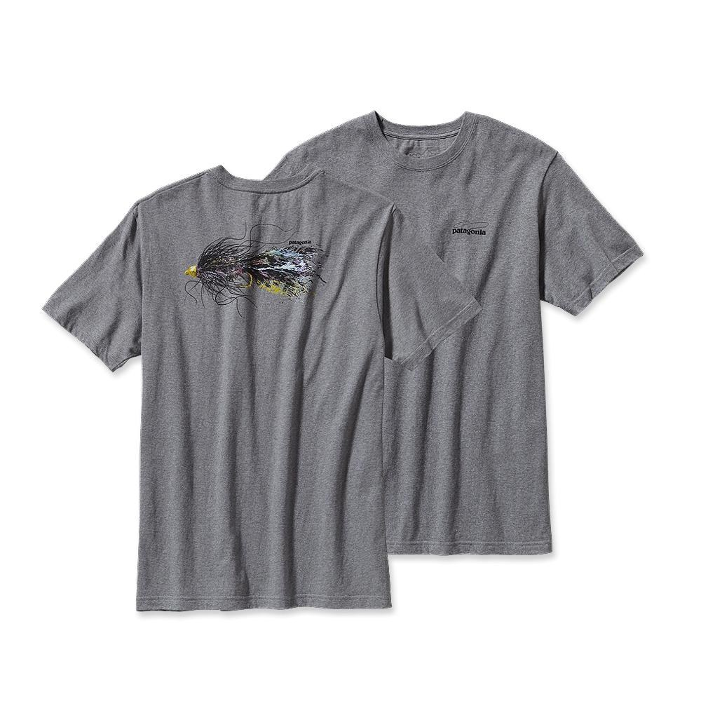 Patagonia Bugger Fly T-Shirt Gravel Heather-30