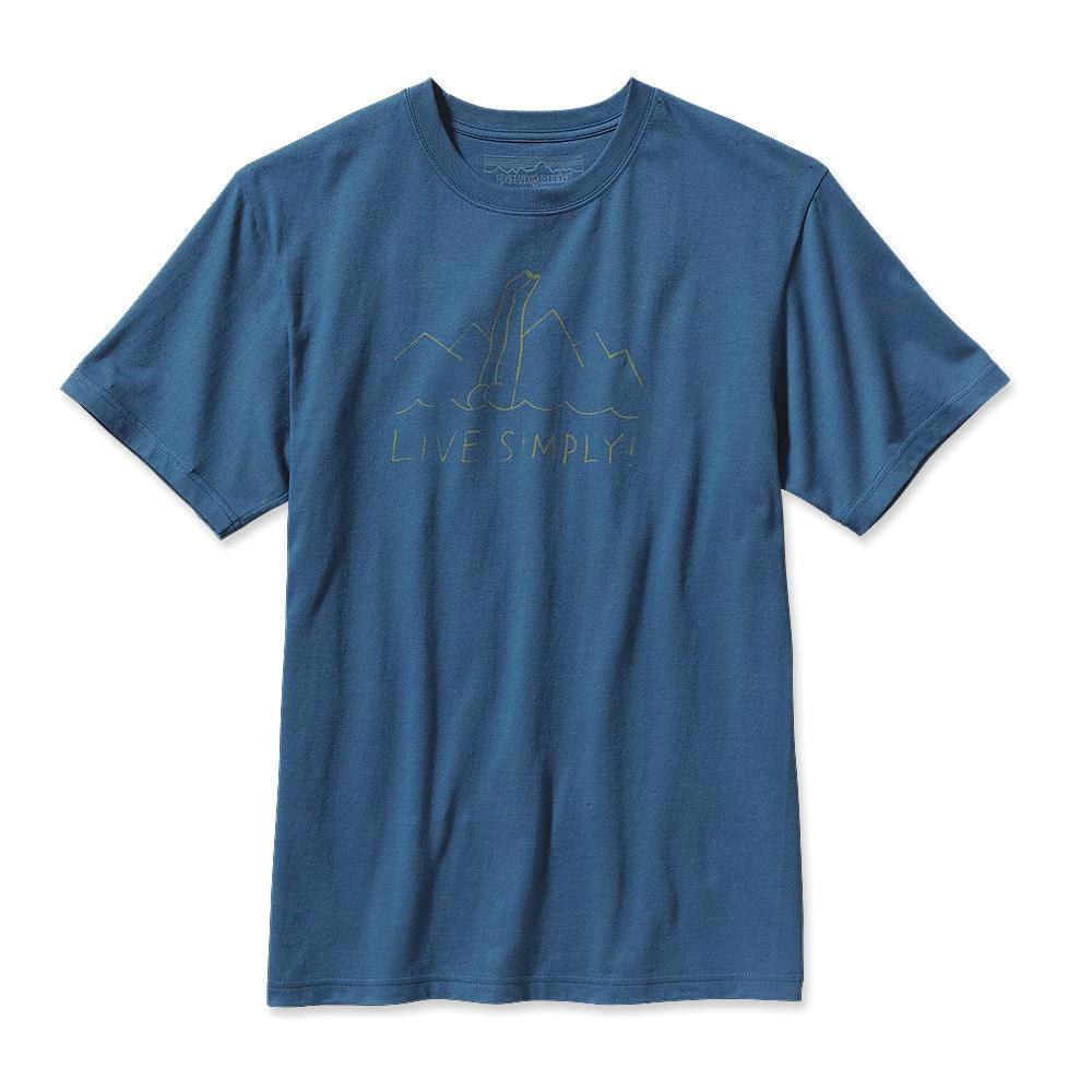 Patagonia Live Simply Dive-In T-Shirt Glass Blue-30