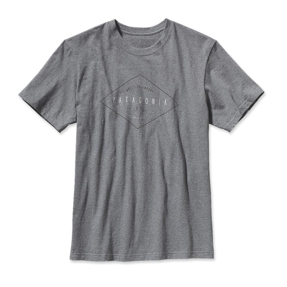 Patagonia Workwear Text Logo T-Shirt Gravel Heather-30