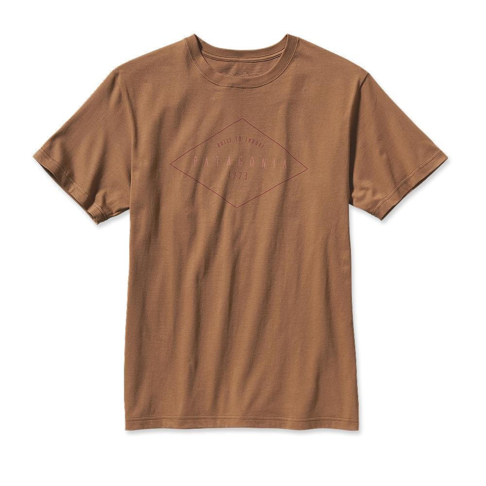 Patagonia Workwear Text Logo T-Shirt Sepia Brown-30