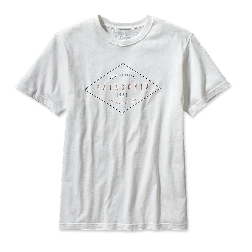 Patagonia Workwear Text Logo T-Shirt White-30