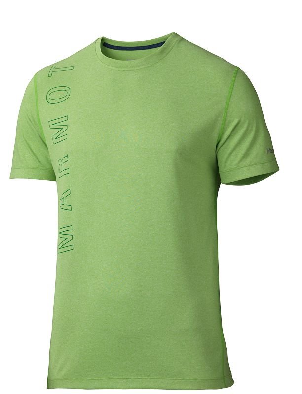 Marmot Impact Tee SS Green Envy Heather-30
