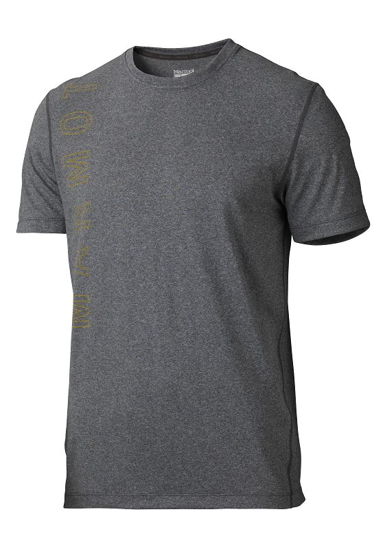 Marmot Impact Tee SS Slate Grey Heather-30