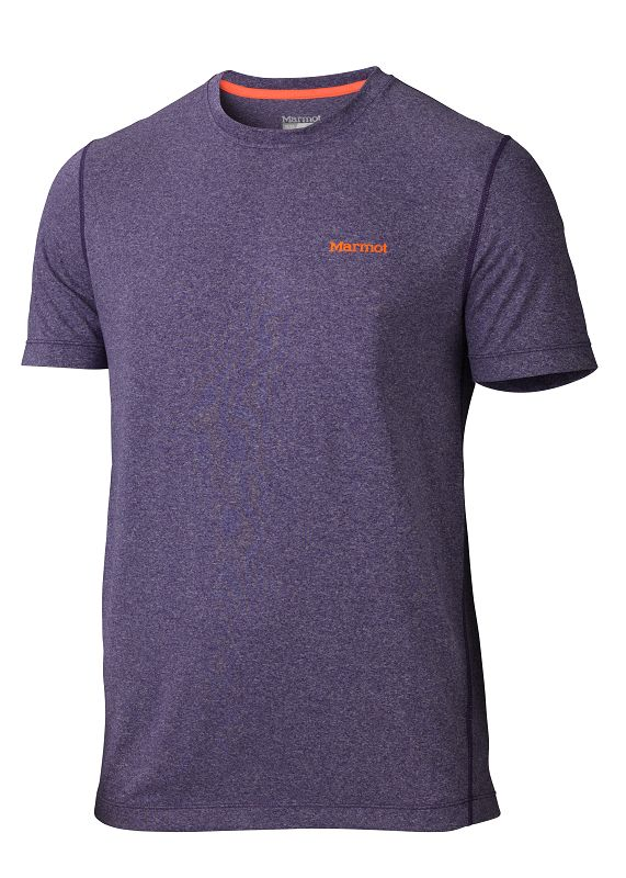 Marmot Conveyor Tee SS Royal Grape Heather-30