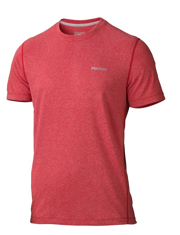 Marmot Conveyor Tee SS Team Red Heather-30
