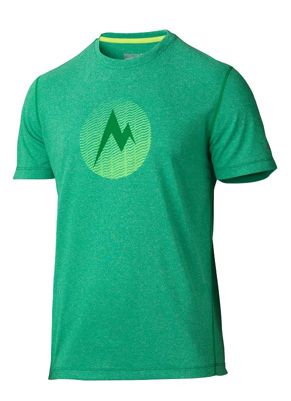 Marmot Transporter Tee SS Greenway Heather-30