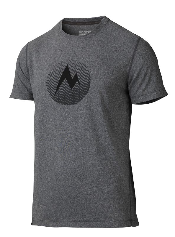 Marmot Transporter Tee SS Slate Grey Heather-30