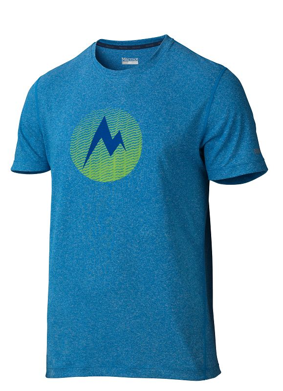 Marmot Transporter Tee SS Ceylon Blue Heather-30