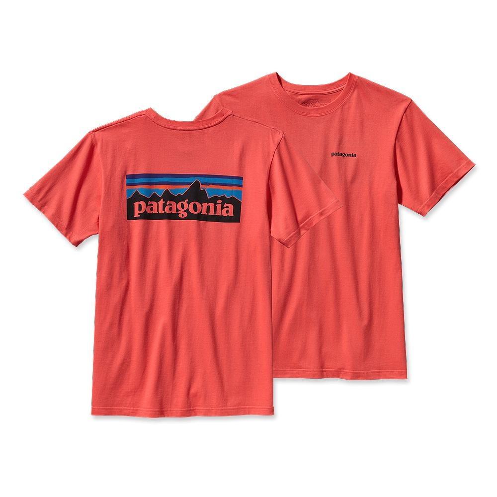 Patagonia P-6 Logo T-Shirt Coral-30