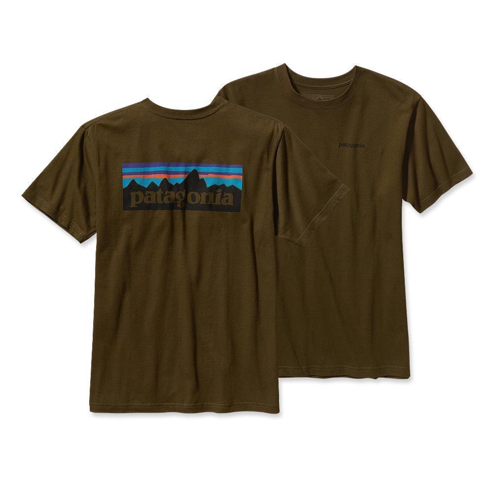 Patagonia P-6 Logo T-Shirt Hickory-30