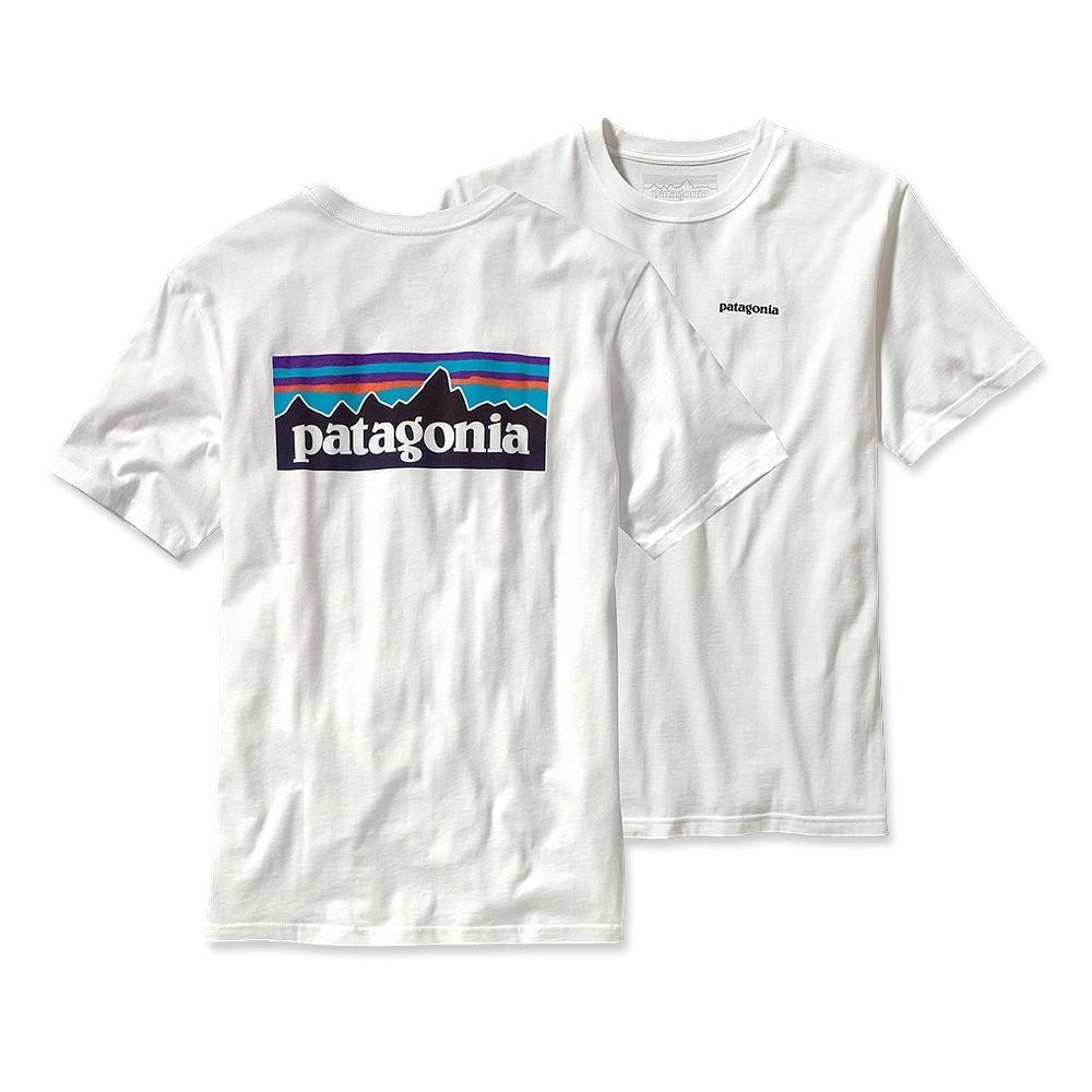 Patagonia P-6 Logo T-Shirt White-30