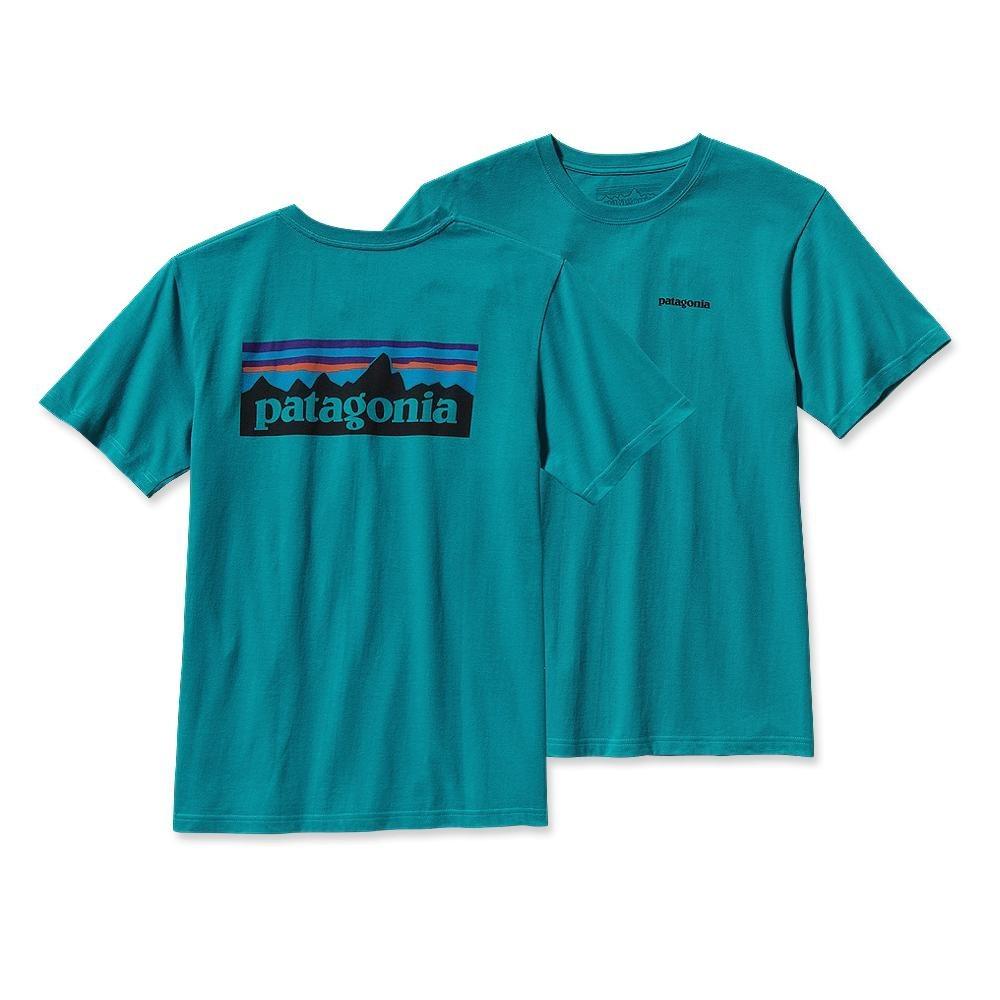Patagonia P-6 Logo T-Shirt Tobago Blue-30