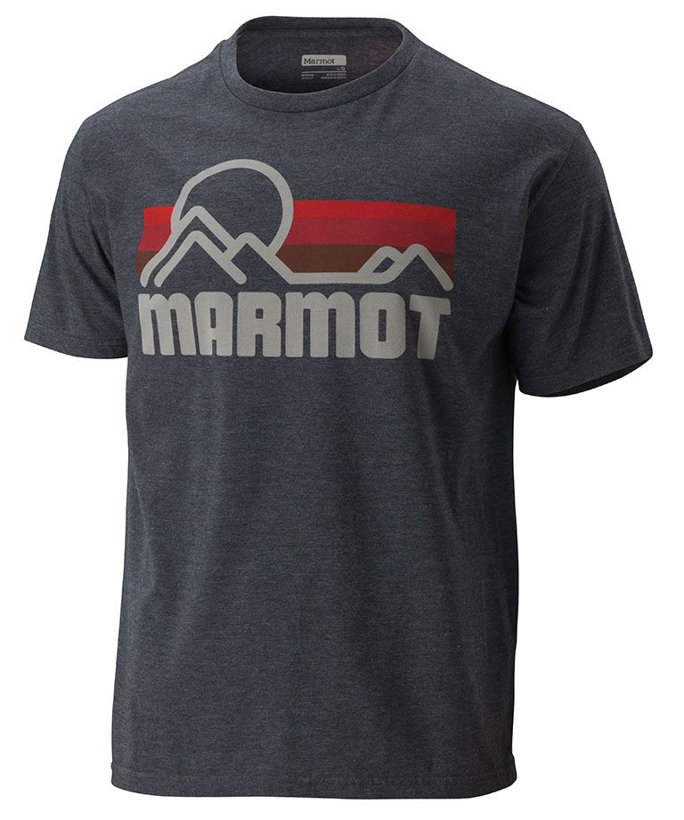 Marmot Marmot Coastal Tee SS Charcoal Heather-30
