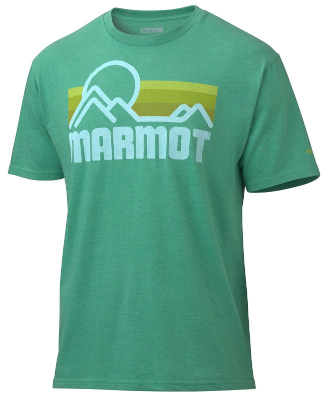 Marmot Marmot Coastal Tee SS Green Heather-30