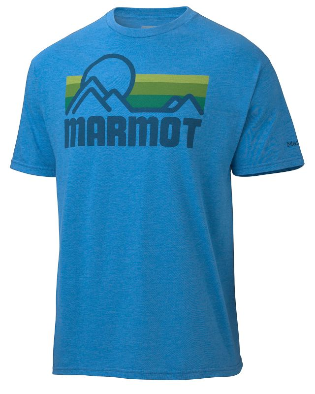 Marmot Marmot Coastal Tee SS Royal Heather-30