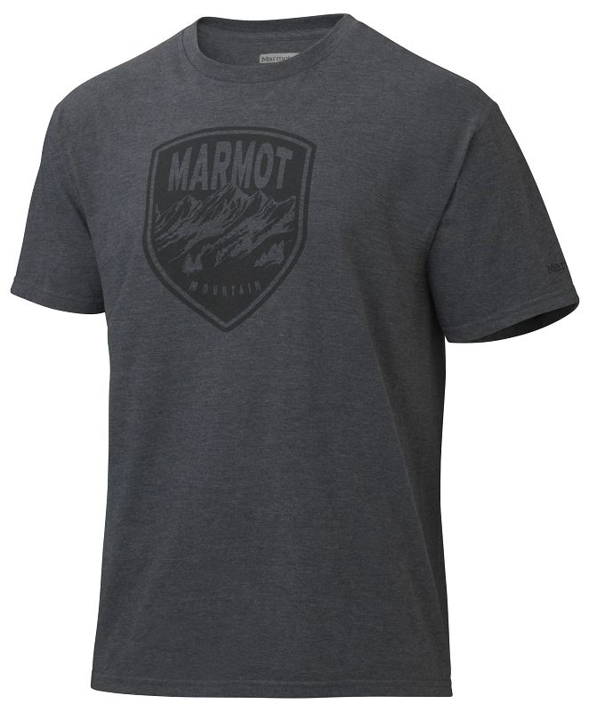 Marmot Vista Tee SS Charcoal Heather-30