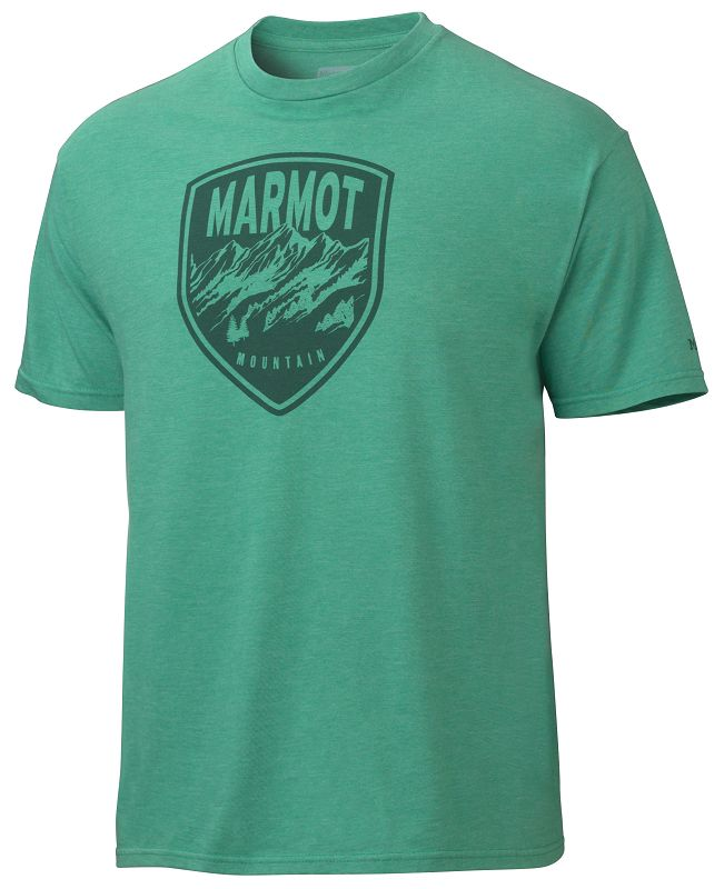 Marmot Vista Tee SS Green Heather-30