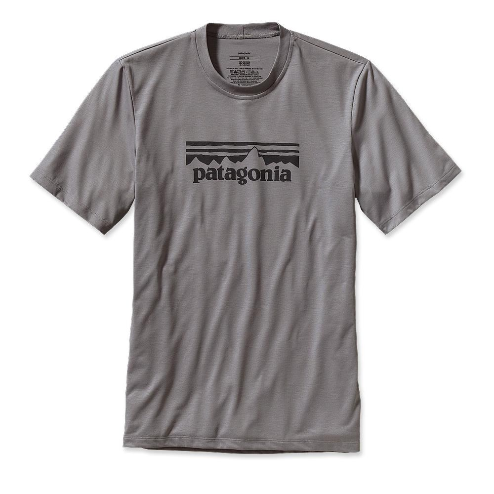 Patagonia Polarized T-Shirt Fitz Solid: Feather Grey-30